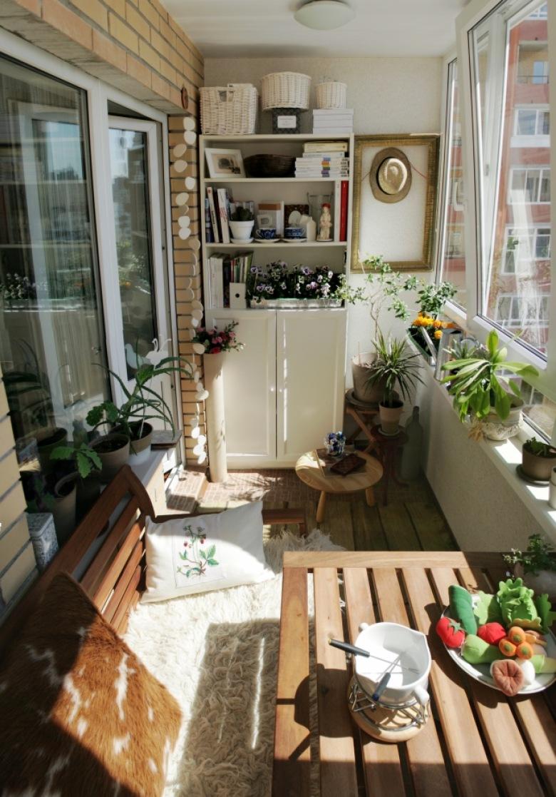 Выбор мебели для балконов и лоджий.