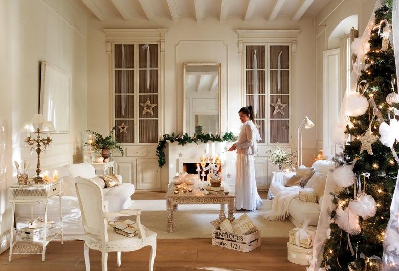 Styl prowansalski salon inspiracje for Decoracion casa estilo provenzal